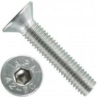 200 Senkschrauben M 5 x 25 mm  - ISO 10642 - Innensechskant - Edelstahl A2