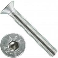 200 Senkschrauben M 5 x 35 mm  - ISO 10642 - Innensechskant - Edelstahl A2