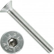 200 Senkschrauben M 5 x 40 mm  - ISO 10642 - Innensechskant - Edelstahl A2