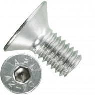 500 Senkschrauben M 6 x 12 mm  - ISO 10642 - Innensechskant - Edelstahl A2