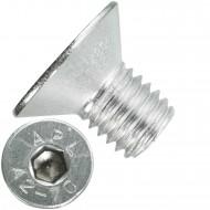 100 Senkschrauben M 10 x 16 mm  - ISO 10642 - Innensechskant - Edelstahl A2