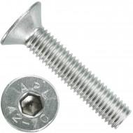 50 Senkschrauben M 10 x 50 mm  - ISO 10642 - Innensechskant - Edelstahl A2