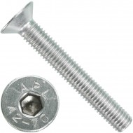 50 Senkschrauben M 10 x 70 mm  - ISO 10642 - Innensechskant - Edelstahl A2