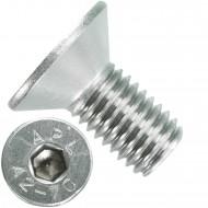 50 Senkschrauben M 12 x 25 mm  - ISO 10642 - Innensechskant - Edelstahl A2