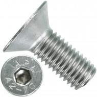 50 Senkschrauben M 12 x 30 mm  - ISO 10642 - Innensechskant - Edelstahl A2