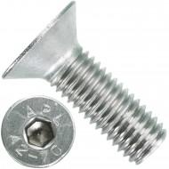 50 Senkschrauben M 12 x 35 mm  - ISO 10642 - Innensechskant - Edelstahl A2
