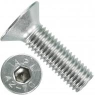 50 Senkschrauben M 12 x 40 mm  - ISO 10642 - Innensechskant - Edelstahl A2