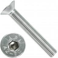 25 Senkschrauben M 12 x 80 mm  - ISO 10642 - Innensechskant - Edelstahl A2