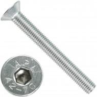 25 Senkschrauben M 12 x 100 mm  - ISO 10642 - Innensechskant - Edelstahl A2