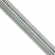 1 Gewindestange M20 1000 mm lang  Edelstahl  A2  DIN 976