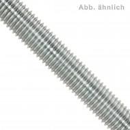 1 Gewindestange M8 x 1000 mm - Edelstahl A4 - Linksgewinde - DIN 976