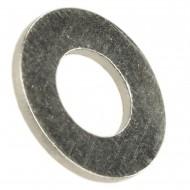 1000 Unterlegscheiben DIN 125 Form A Messing vernickelt 5,3 mm für M5