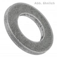 100 Unterlegscheiben DIN 125 Form A - für M8 - Aussen Ø-=16mm - Aluminium