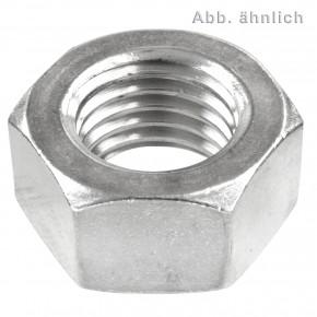 100 Sechskantmuttern M8 - DIN 934 - Edelstahl A5