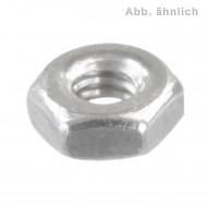 500 Sechskantmuttern M2,5 - DIN 934 - Edelstahl A1-A2