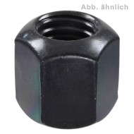 25 Sechskantmuttern M12 - DIN 6330 - Form B - blank