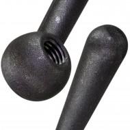 1 Kegelgriff 80 mm Grifflänge - DIN 99 - M10 Innengewinde