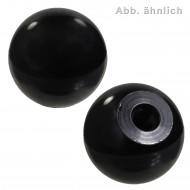 10 Kugelknöpfe DIN 319 Form C Kunststoff mit Innengewinde 50mm-M12