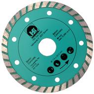 1 Diamant Trennscheibe mit 2,15 mm Stärke und turbo flachem Schneidrand 115 mm