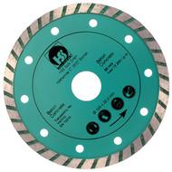 1 Diamant Trennscheibe mit 2,15 mm Stärke und turbo flachem Schneidrand 125 mm