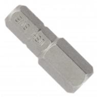 "1 Hexagon-Innensechskant Bit SW8 1-4"" 25mm Standard"
