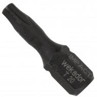 1 Torx® IMPACT Bit - TX20 - Schlagfest auch für Maschinen geeignet 25 mm