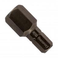 1 Hexagon Innensechskant Bit - Industrie Bit -  SW10 1-4 Zoll 25mm High Quality