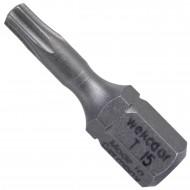 """1 Torx Bit TX15 - 25mm Länge - 1-4"""" Antrieb - Industriequalität"""