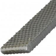 1 Flachstumpf-Raspel DIN 7263 A, 200mm, Hieb 2