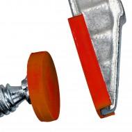 1 Schraubzwinge 250 x 120 mm, DIN 5117, Temperguss - Profiqualität