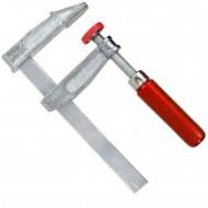 1 Schraubzwinge für Heimwerker leichte Ausführung Zinkdruckguß  100x50 mm
