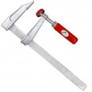 1 Schraubzwinge für Heimwerker leichte Ausführung Zinkdruckguß  250x80 mm