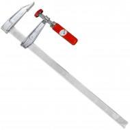 1 Schraubzwinge für Heimwerker leichte Ausführung Zinkdruckguß  400x80 mm
