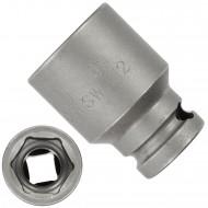 """1 ASW Steckschlüssel, Antrieb 1/4""""G 6,3 - Innensechskant,Länge 23 mm, SW 12"""