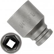 """1 ASW Steckschlüssel, Antrieb 1/4""""G 6,3 - Innensechskant,Länge 23 mm, SW 13"""