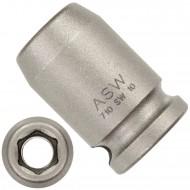 """1 ASW Steckschlüssel, Antrieb 3/8"""" G10 - Innensechskant,Länge 30 mm, SW 10"""