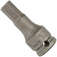 """1 ASW Steckschlüssel, Antrieb 3/8"""" G10 - Außensechskant, Länge 50 mm, SW 10"""
