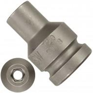 """1 ASW Steckschlüssel,Antrieb 1/2"""" G12,5 - Innensechskant, Länge 38 mm,SW 8"""