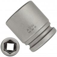 """1 ASW Steckschlüssel, Antrieb 3/4""""H 20 - Innensechskant,Länge 54 mm, SW 30"""