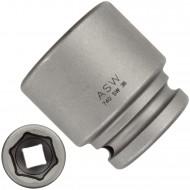"""1 ASW Steckschlüssel, Antrieb 3/4""""H 20 - Innensechskant,Länge 56 mm, SW 36"""