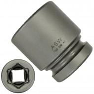 """1 ASW Steckschlüssel, Antrieb 1"""" H 25 - Innensechskant,Länge 67 mm, SW 41"""
