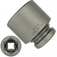 """1 ASW Steckschlüssel, Antrieb 1"""" H 25 - Innensechskant,Länge 80 mm, SW 50"""