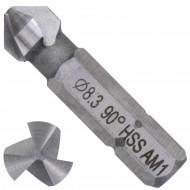 1 KEIL HSS Bit - Kegelsenker 90 Grad , 3-Schneiden 8,3mm