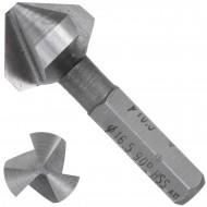 1 KEIL HSS Bit - Kegelsenker 90 Grad , 3-Schneiden 16,5mm
