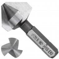 1 KEIL HSS Bit - Kegelsenker 90 Grad , 3-Schneiden 20,5mm
