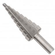 1 Stufenbohrer HSS 9 x 2,0 mm Stufen 4- 20 mm Hausmarke