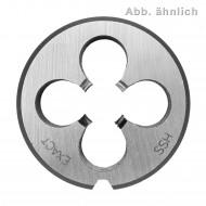 1 Exact Schneideisen, HSS, Form B, DIN 223, Metrisch-Fein 1,5 mm Mf 20,0