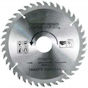 1 Hartmetall Kreissägeblatt, Wechselzahn,40 Zähne, 160x2,4x30mm mit Reduzierring