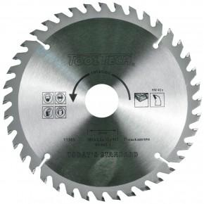 1 Hartmetall Kreissägeblatt, Wechselzahn,40 Zähne, 180x2,4x30mm mit Reduzierring