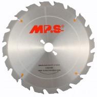 1 MPS HM bestücktes Tischkreissägeblatt, nagelfest, 20 Zähne, 300x3,2x30mm